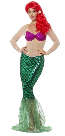 Disfraz Sirena Chica Mujer Nina Sirenita Despedida Soltera Comprar Disfraces Baratos