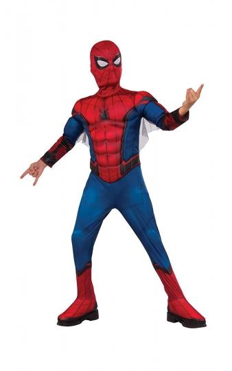 Spiderman - Disfraz infantil con músculos Premium, S (Rubie's Spain 630731-S)