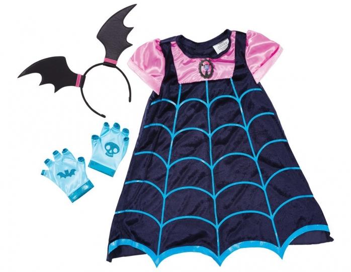 Disfraz Vampirina - Disney Junior - Vestido con alas de murciélago y diadema