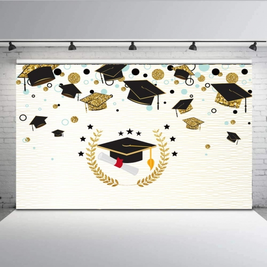 Fondo de fotografía Graduado para graduación licenciados fin de curso