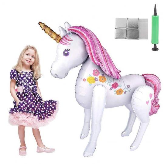 Globo Unicornio Super Grande Foil-Decoración Fiestas de Cumpleaños