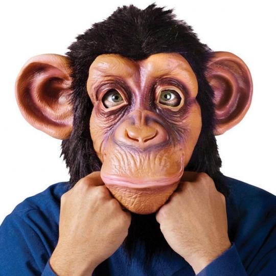 Matedepreso Disfraz de Cosplay para Adultos, máscara de Horror para el Rey y el Mono, Juguetes Divertidos de Halloween