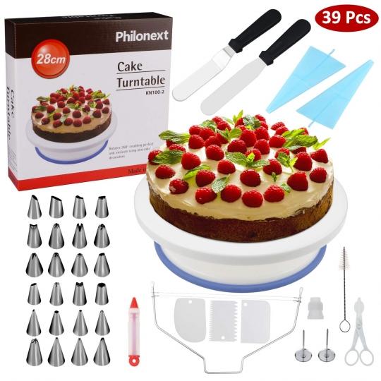 mesa plato giratorio soporte tartas pasteles decoracion