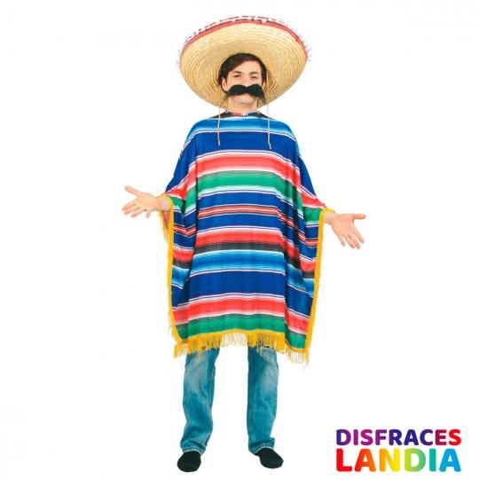 poncho-mejicano-mexicano-multicolor-chico-adulto-carnaval-disfraces-originales-novedades-barato-comprar-online