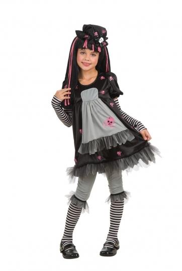 Rubies - Disfraz Infantil de Black Dolly - Gothicas 884681